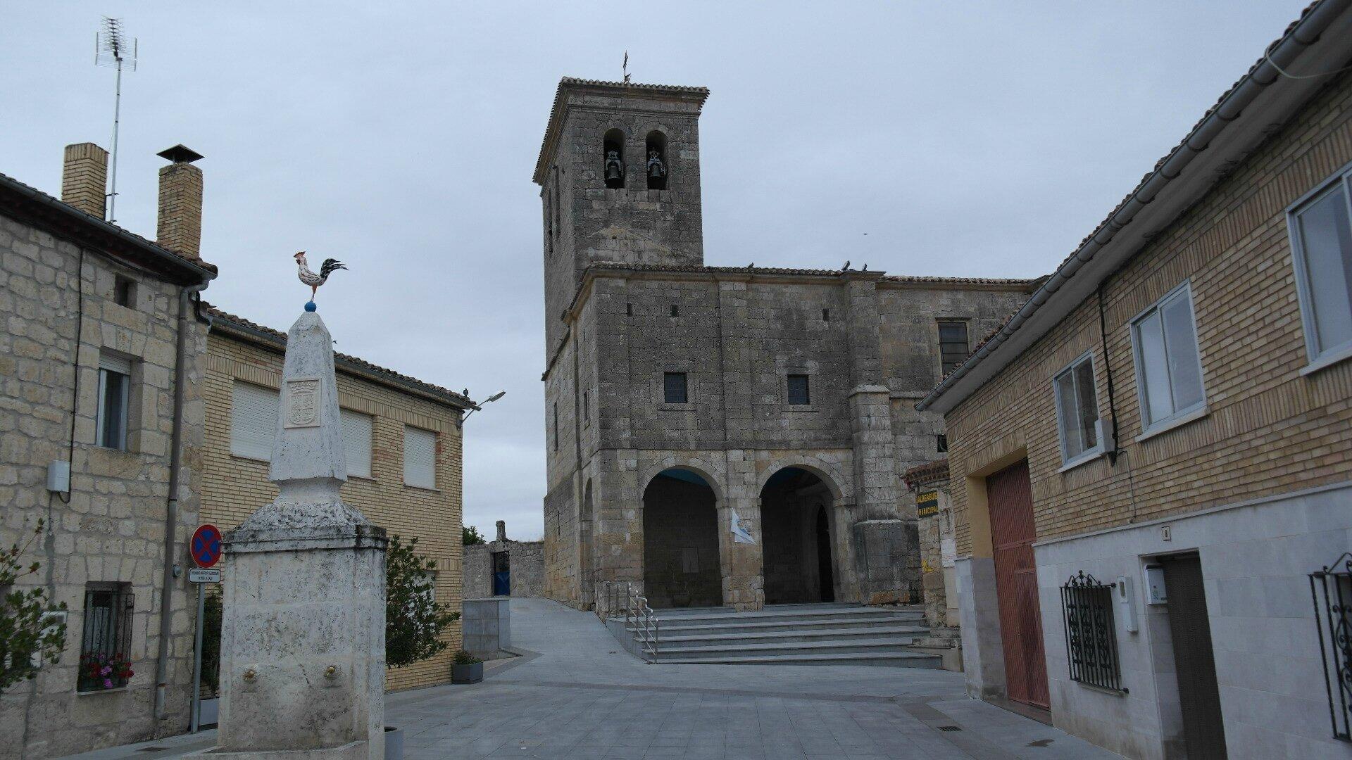 5 ème tronçon : 12 ème étape de Burgos à Castrojeriz 32 kms