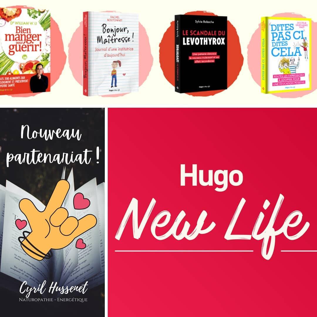 Partenariat maison d'éditions Hugo New Life