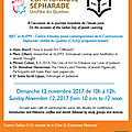 Judaisme et astrologie, etude de la kabbale aujourd'hui, démocratie et religion, etc : mes conférences à aleph