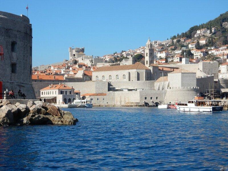 Dubrovnik, l'entrée du port médiéval, 160217