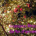 Joyeuses fêtes ... happy holidays ...