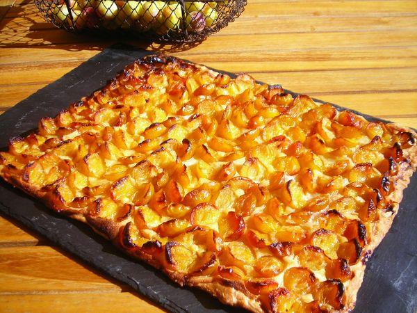 tarte fine aux mirabelles et crème d'amande (11)