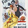 Fêtes de la mi-carême 1923 à belfort, le bal paré et masqué & les échos des fêtes