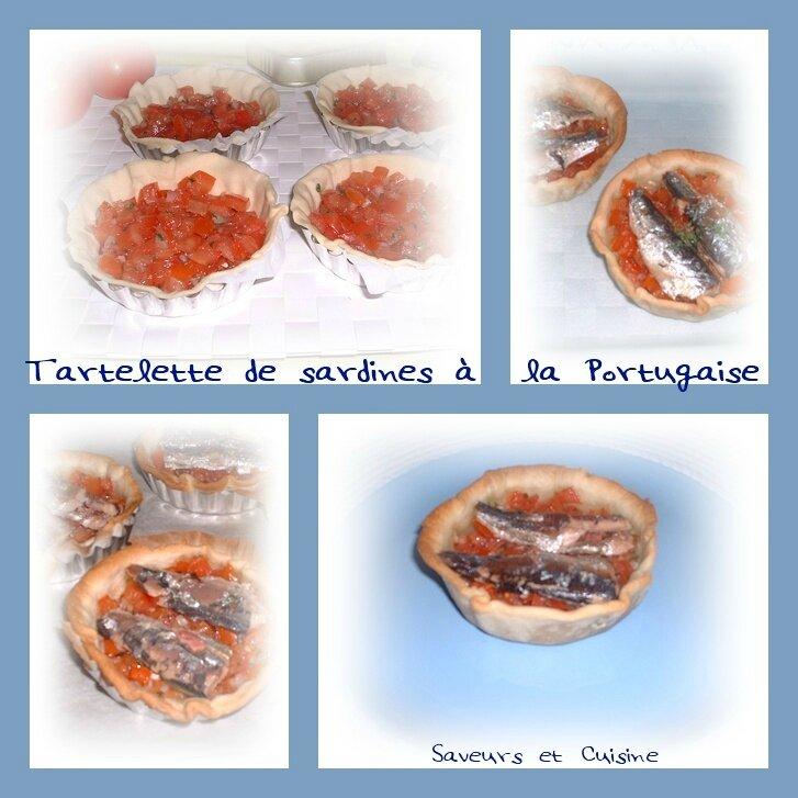 Tartelette de sardine à la Portugaise