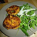 My very first crab cakes