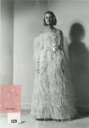 Photographie d'archive de la Maison Balenciaga © Archives Balenciaga © DR