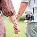 Les tatouages de couples notre sélection des quatre meilleurs tatouages de couples