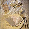 Thème de décoration : romantique blanc-argent