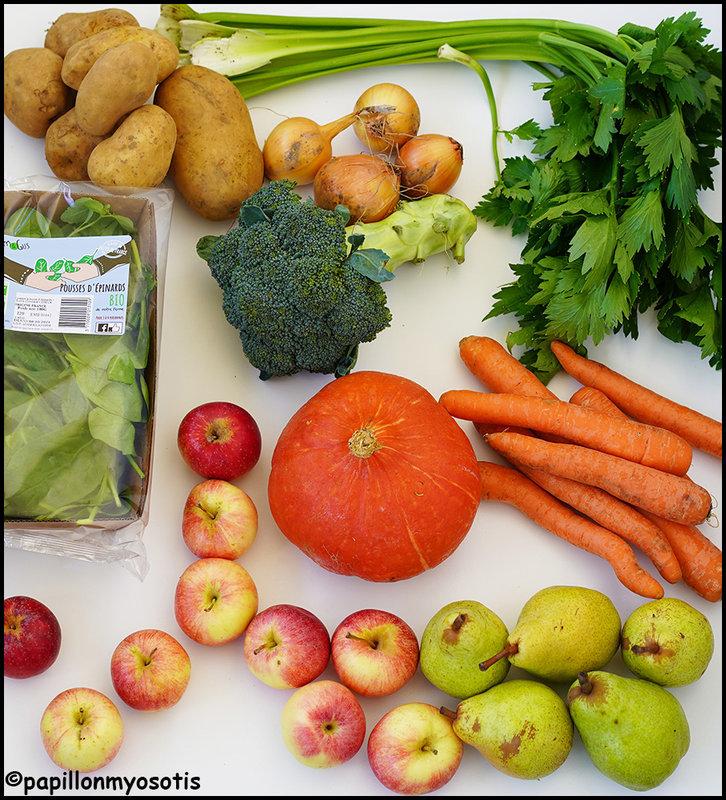 Panier fruits et légumes Le Campanier