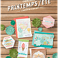 Catalogue printemps