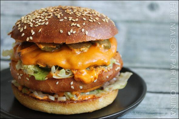 Burgers façon Big Mac maison...
