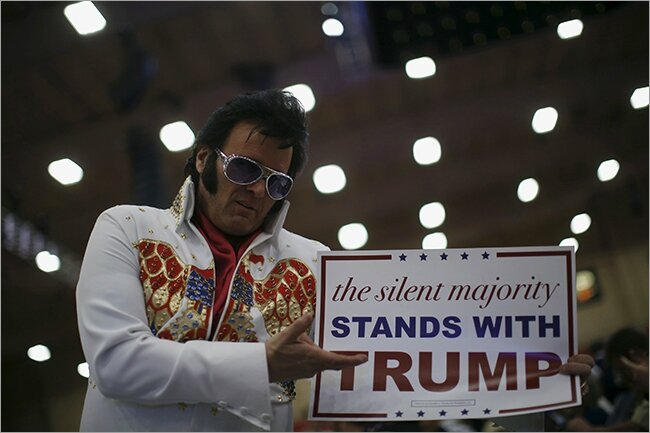 Donald Trump and the silent majority