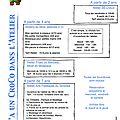 Antibes - programme d'octobre