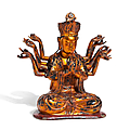 Bodhisattva, vietnam, late 19th century or somewhat later