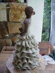 Anabella,sculpture,modelage,céramique,terre,argile,raku,silhouette,espagnle,femme,statuette,statue,grès (13)