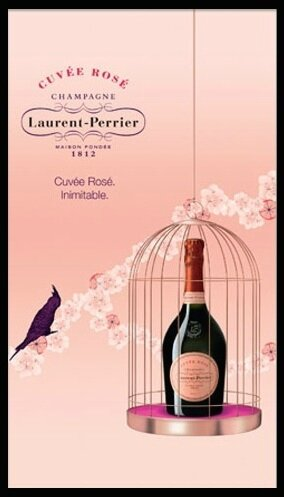 laurent perrier cuvee rose 1