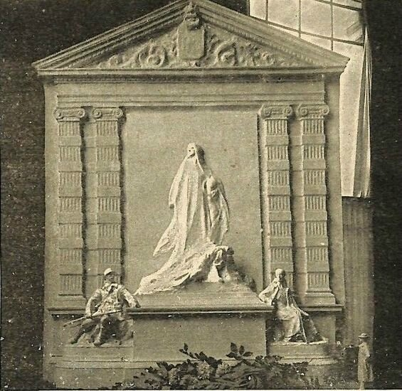 1916 Projet André Vermare Monument Cavell
