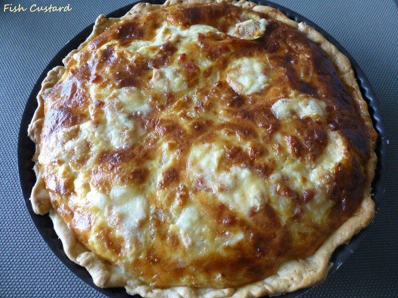 Quiche au Munster, fromage blanc et lardons (3)