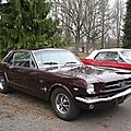 FORD Mustang hardtop coupé 1966 Strasbourg - Rétrorencard (1)