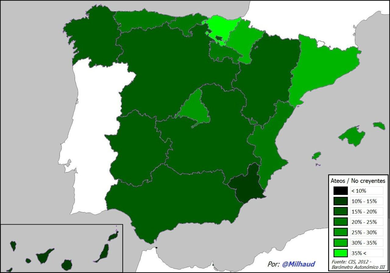 espagne-laicité Atheists in Spain