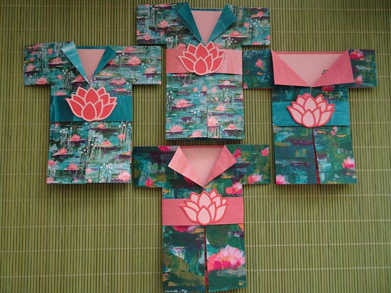 26a Cartes kimono