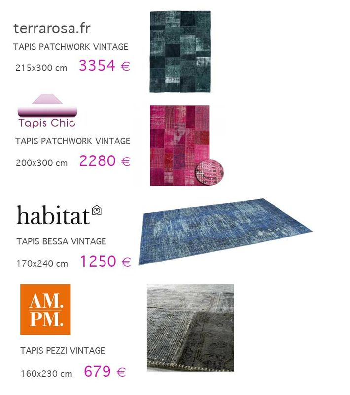 visiuel tapis patchwork concurrence