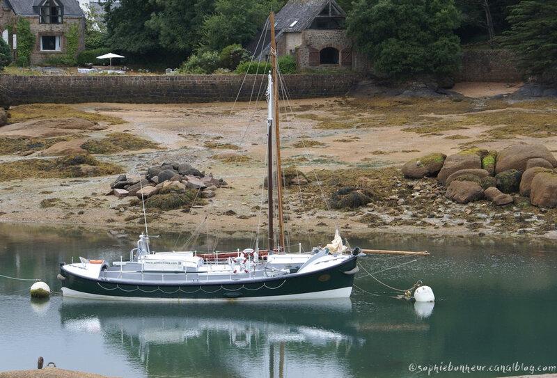 ploumanach bateau