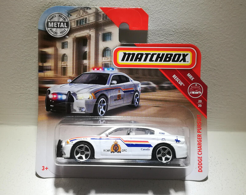 Dodge Charger Pursuit (Matchbox)