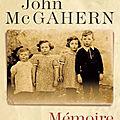 Mcgahern john / mémoire.