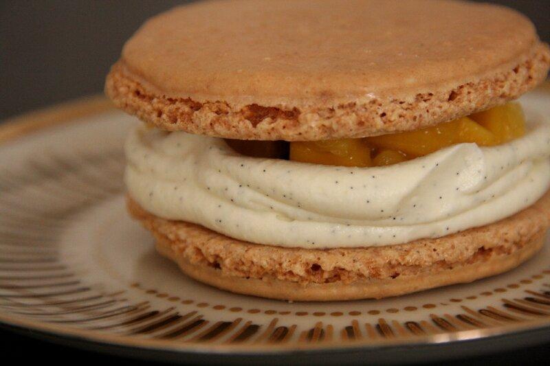 macaron vanille fruits exo 2