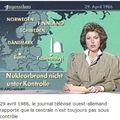 La rda et la catastrophe de tchernobyl