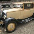 Citroën c4 faux cabriolet 1929