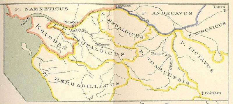 Les Marches communes du Poitou, d'Anjou, de Bretagne et l'organisation judiciaire et lois anciennes de la province du Poitou