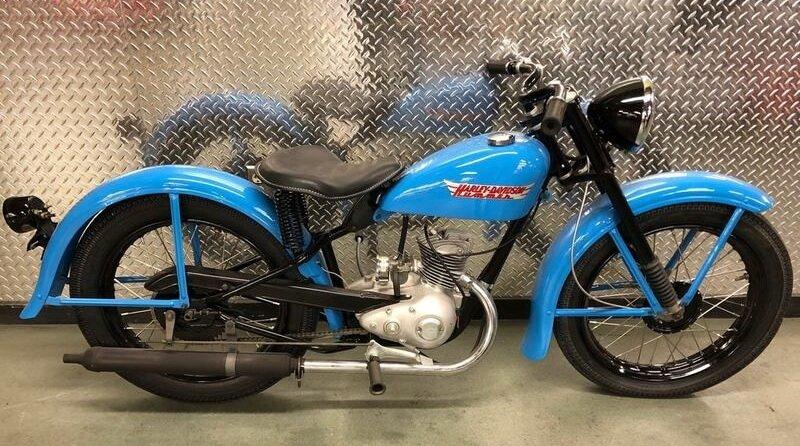 Hummer 125 Harley 1955-1959