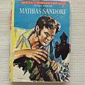 Mathias sandorf, jules verne, idéal bibliothèque, éditions hachette 1963