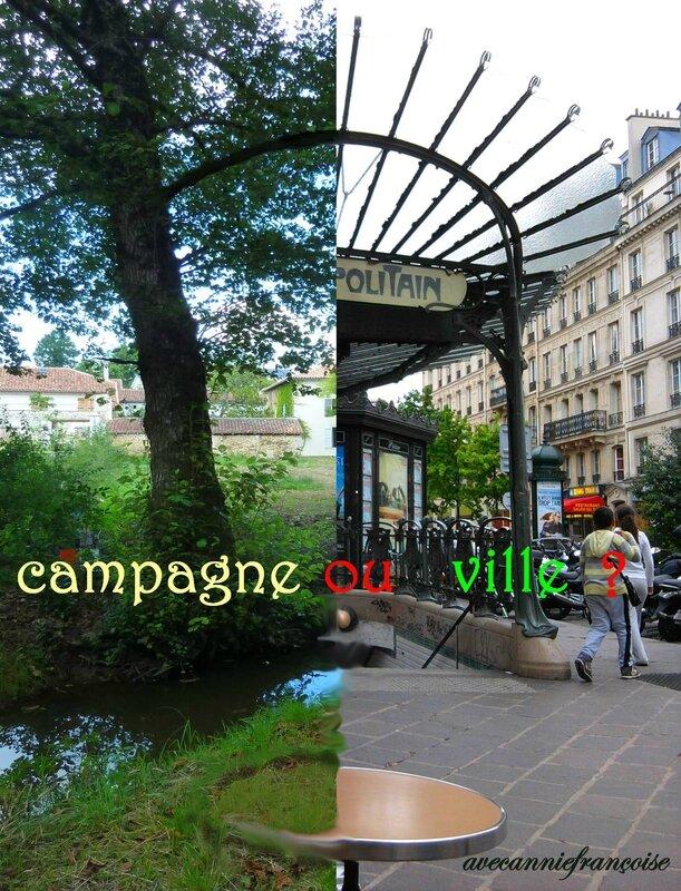 campagne ou ville