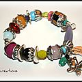 Bracelet color chic