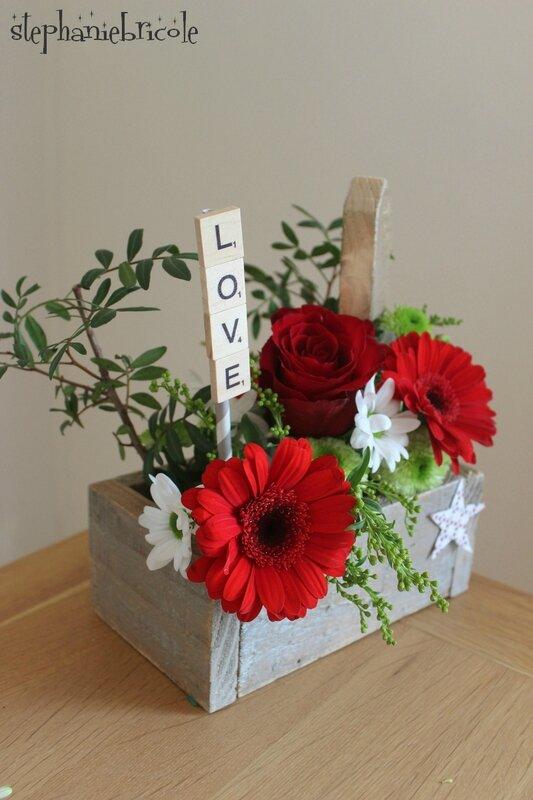 compo florale et platte