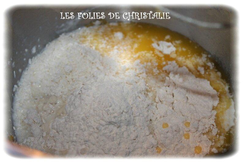 Gâteau magique mûres coco 2