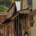 Sainte Lucie, rue à Souffrière