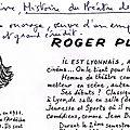 Roger planchon, par andré degaine, historien du théâtre français