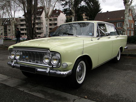 FORD Zodiac Mark III 1963 Retrorencard 2