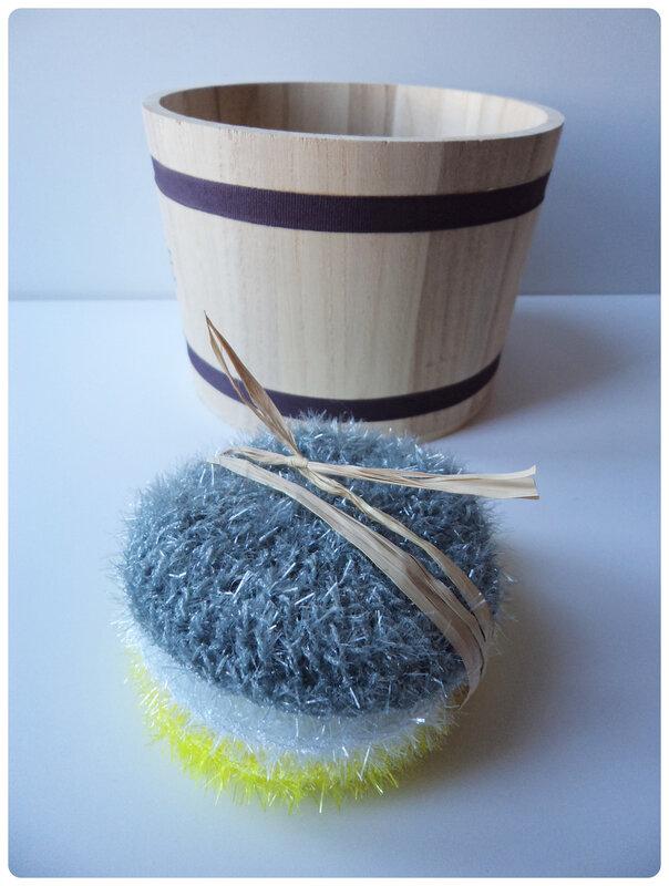 Tawashi au crochet Cam&Drey bricolent