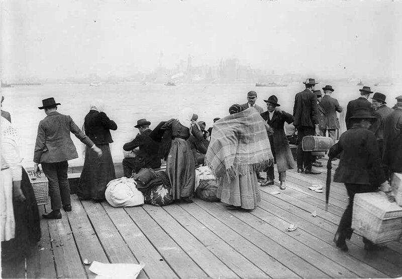 Immigrants Ellis Island 30-10-1912