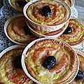 Mini quiche pizza