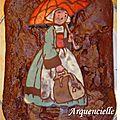 Gâteau Bécassine windows color chocolat