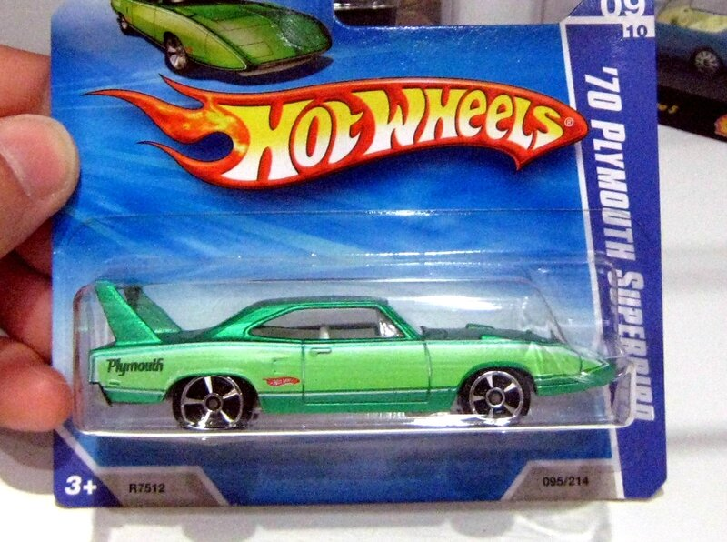 Plymouth superbird de 1970 (Hotwheels 2010)