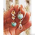 Bijoux proposés avec les perles pour bijoux