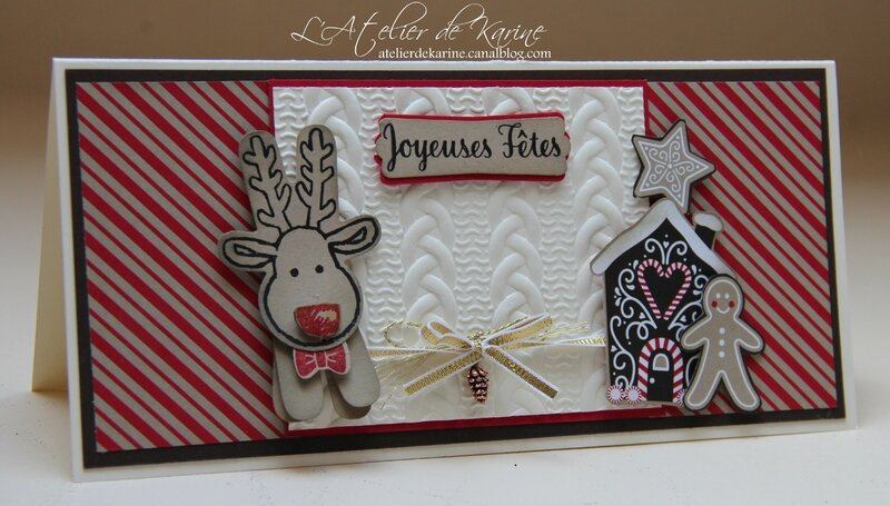 Carte Canne de Noël 1
