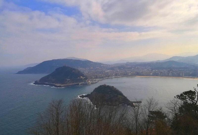 San Sebastian : la Baie de la Concha